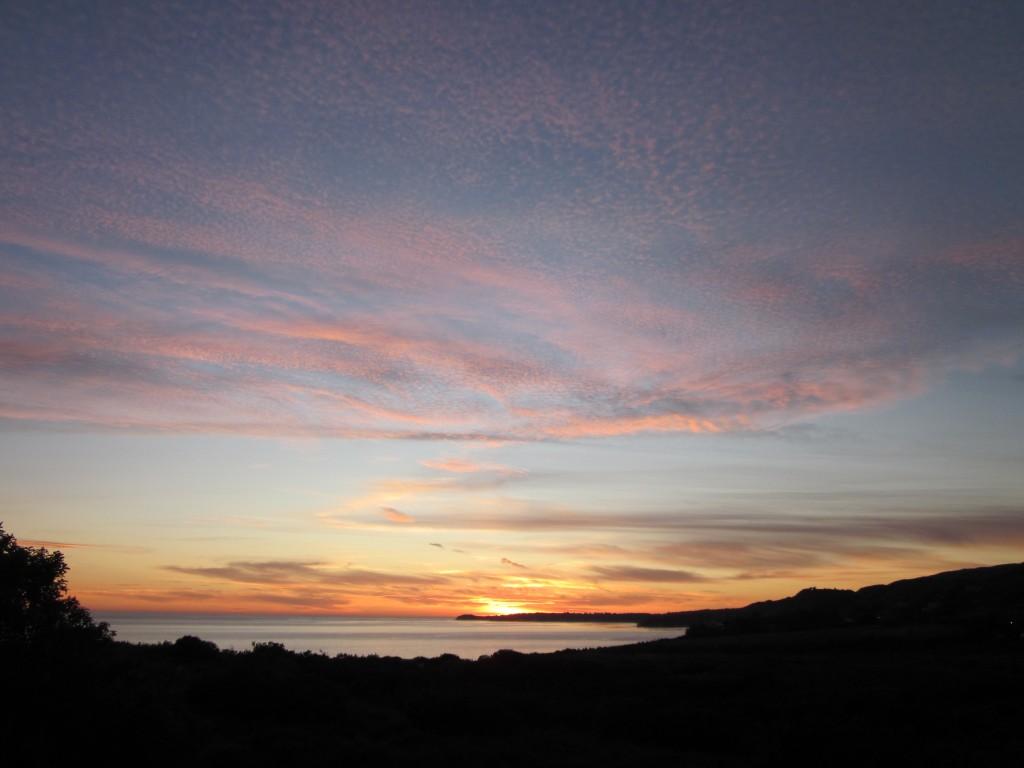 Richard Uzelac Malibu Sunset January 2012
